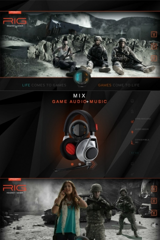 RIG Headset + Mixer from Plantronics