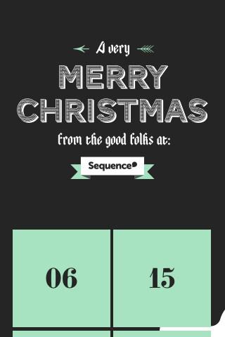 Sequence Agency Advent Christmas Campaign