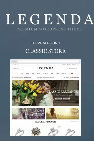 Legenda - WordPress Theme