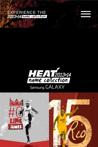 Miami HEAT Name Collection