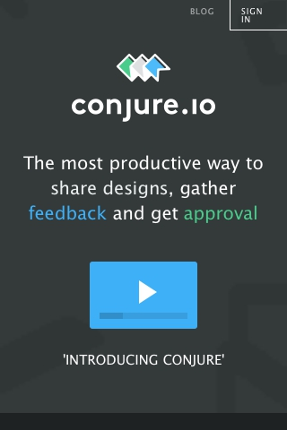 Conjure - Share your work and get feedback