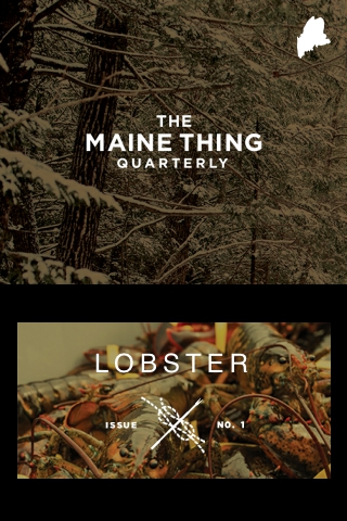 The Maine Thing Quarterly