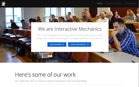 Interactive Mechanics