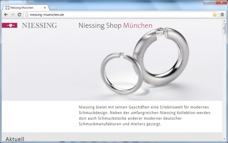 Niessing Shop Munich