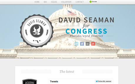 David Seaman for Congress