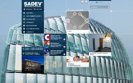 Sadev Architectural Glass Systems