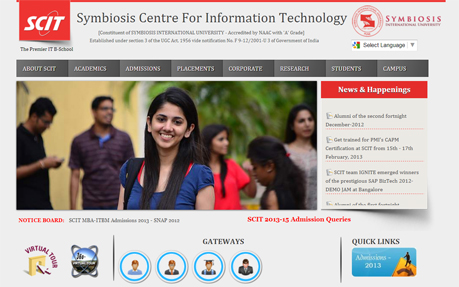 SCIT - Symbiosis Centre for IT