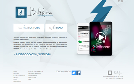 Boltform - Online form builder