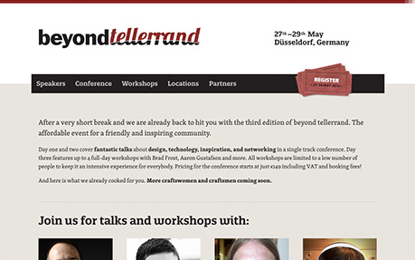 beyond tellerrand conference