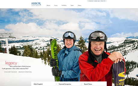 Arbor Investments Website