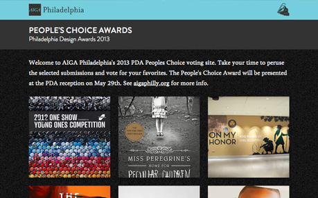 AIGA PDA People's Choice Awards