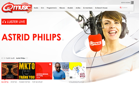 Q-music Belgium / The Netherlands