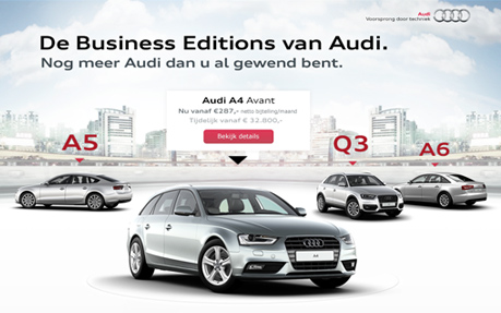 The Audi Business Editions