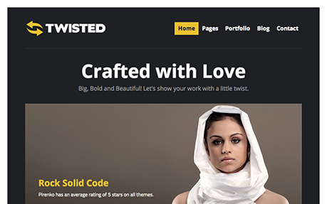 Twisted - Wordpress Showcase