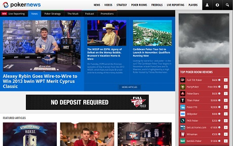 Pokernews - all about poker