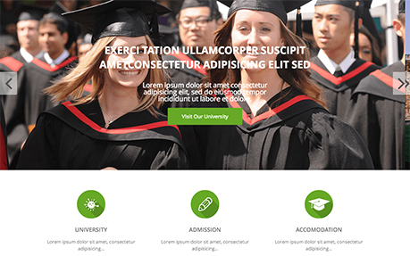 Shaper University - Joomla Educational Template