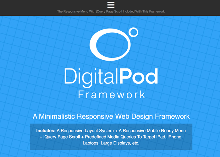 DigitalPod Framework