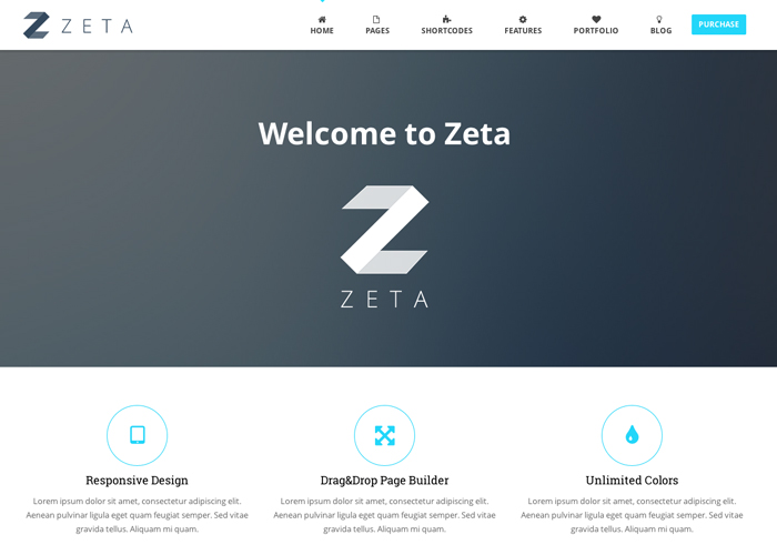 Zeta - MultiPurpose WordPress Theme