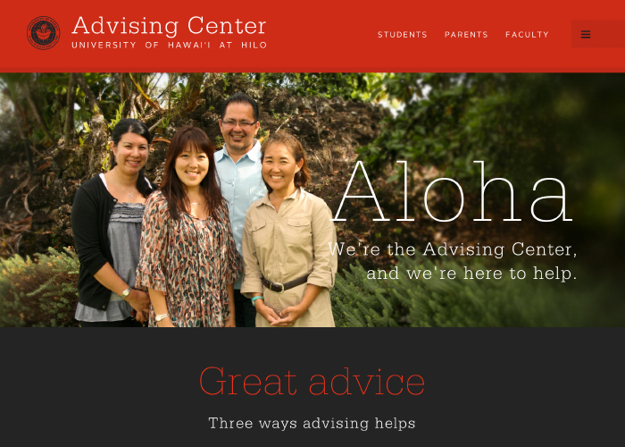 UH Hilo Advising Center