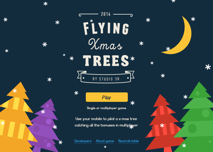 Flying X-Mas Trees