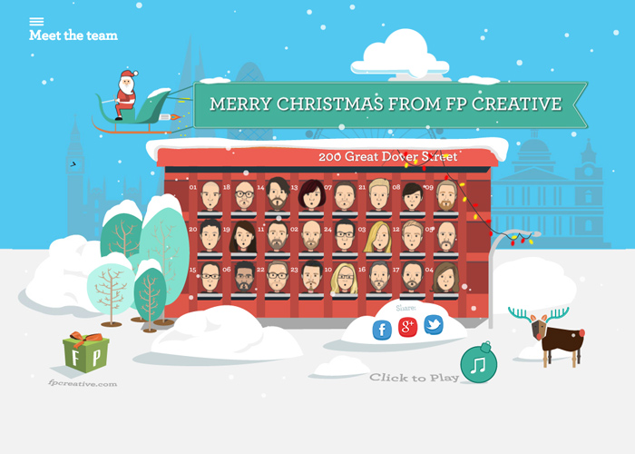 FP Creative Christmas Card