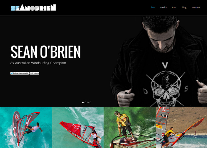 Sean O'Brien - Pro Windsurfer