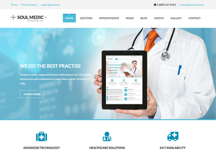 SoulMedic | Medical WP Theme