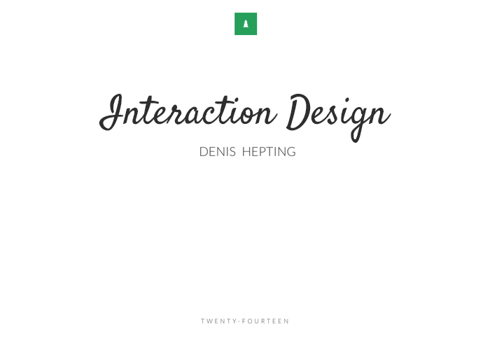 Interaction Design Portfolio