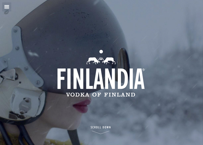 Finlandia Vodka website