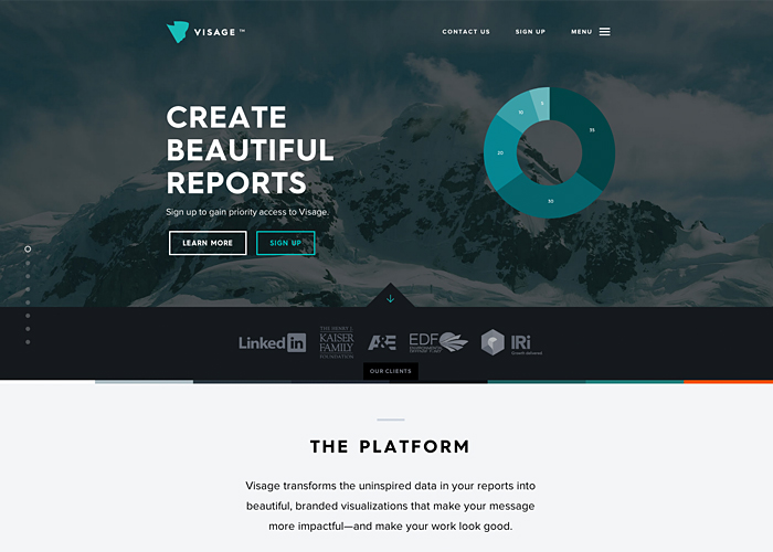 Visage - Beautiful, Branded Reports