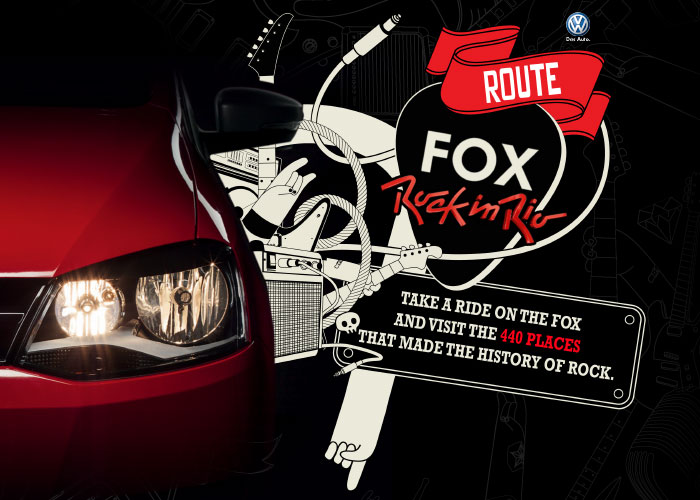Route Fox Rock in Rio