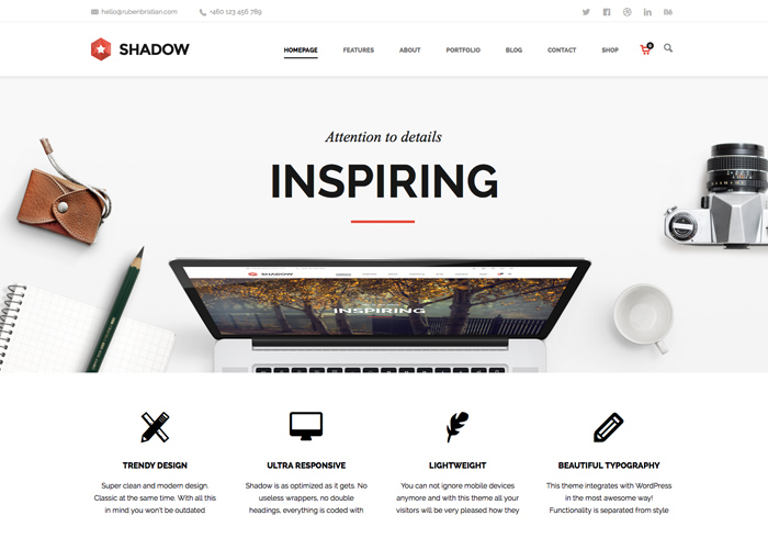 Shadow - WP Theme