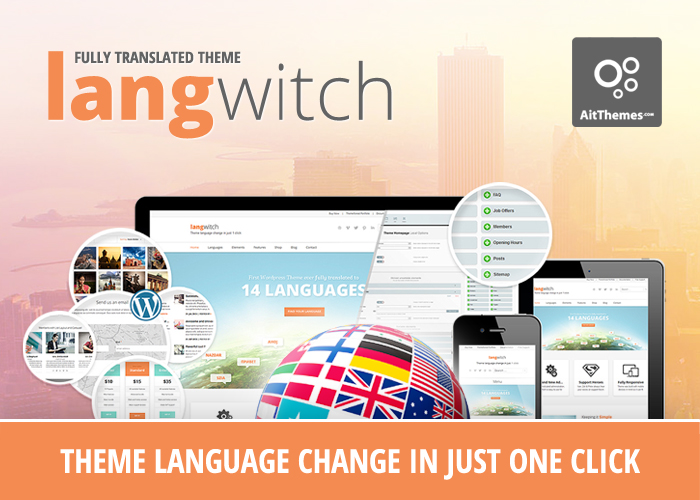 Langwitch: Translated WP Theme