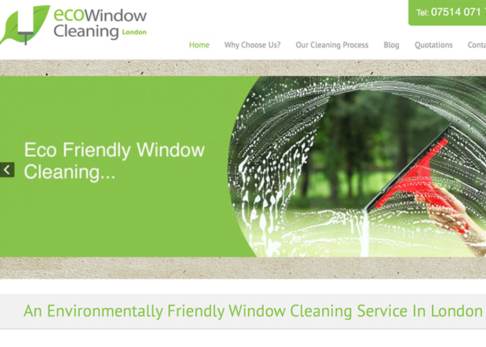 Eco Window Cleaning London
