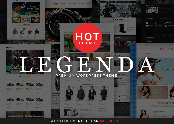 Legenda - Responsive Premium WordPress Theme