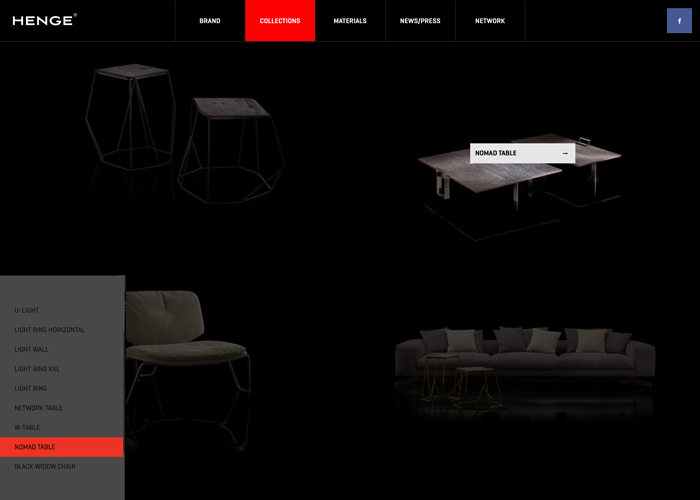 Henge, furnitures and design