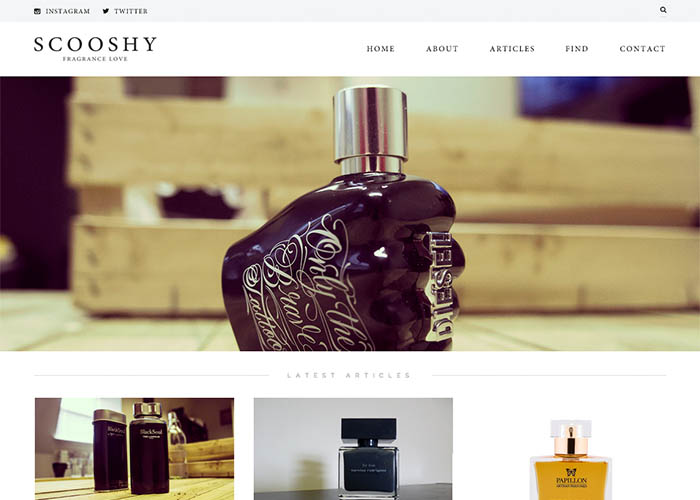 Scooshy - Fragrance & Perfume Reviews