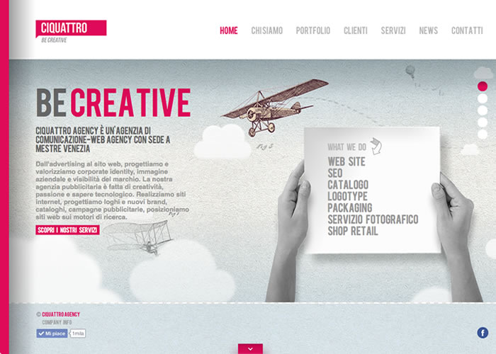Ciquattro Agency - Communication and Web Agency