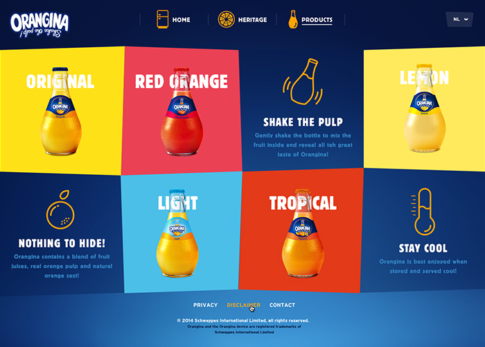 Orangina European Site