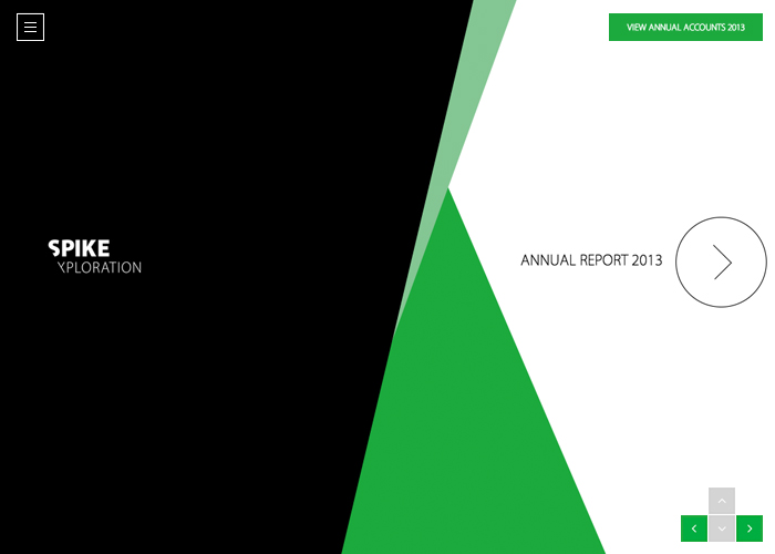 Spike Exploration annual report 2013