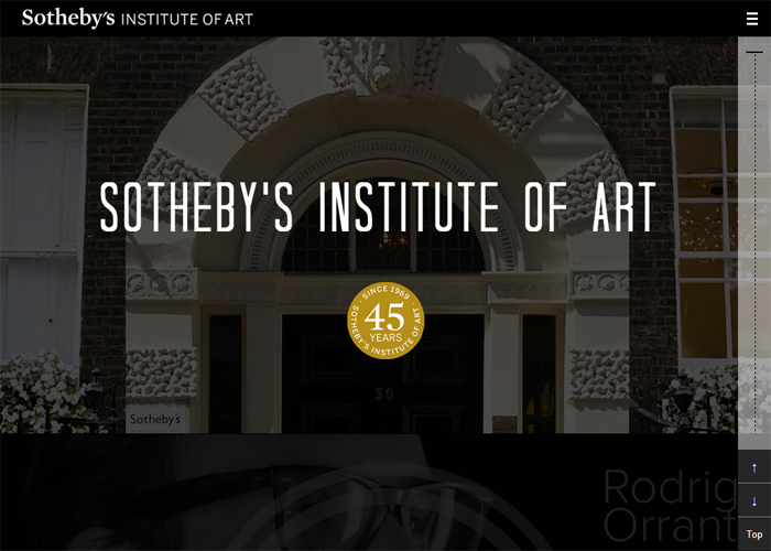 Sotheby's Institute of Art : 45th Year Anniversary