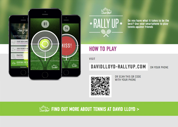 David Lloyd Rally Up