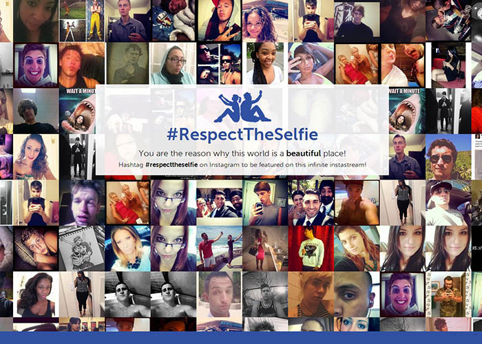 Respect The Selfie | You are the reason why this world is a beautiful place!