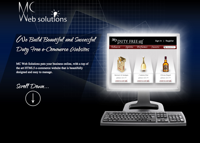 MC Web Solutions | CSS Website