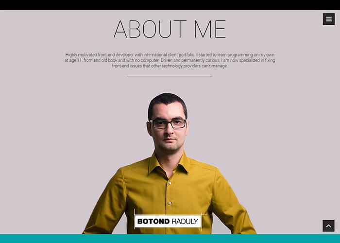 Best Personal Portfolio Website Design