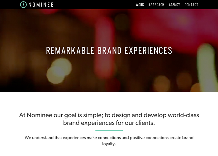 Nominee Design Studio | CSS Website
