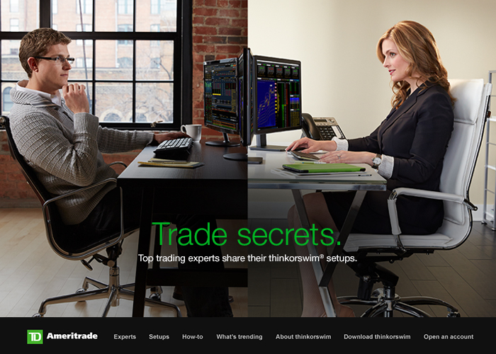 TD Ameritrade - thinkorswim sharing | CSS Website