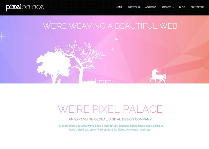 Pixel Palace | CSS Website
