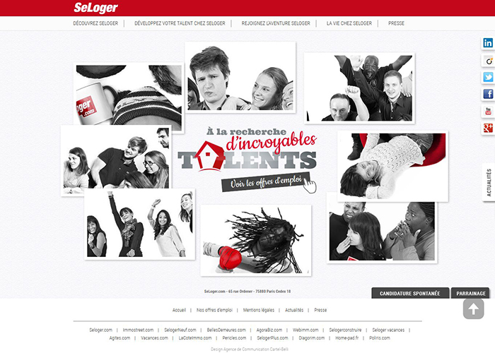 Groupe SeLoger | CSS Website