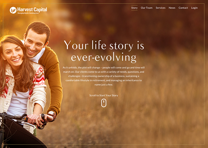 Harvest Capital | CSS Website